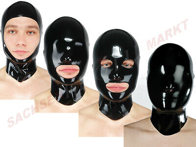 Latex Maske Fetisso Latexmaske Rubber Fetish Erotik Bondage Body Catsuit Overall