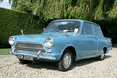 Ford Cortina 1500 2 Door Deluxe.Rare Pre Airflow. Superb Condition