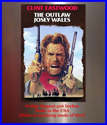 "A Fistful of Dollars Clint Eastwood Ad 10/"" X 7/"" Reproduction Metal Sign I166"