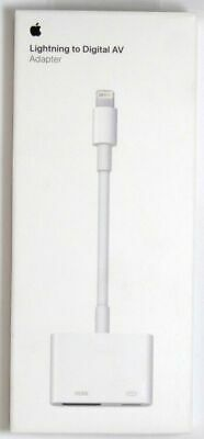 NEW Genuine Apple Lightning Digital AV Adapter MD826AM/A White FREE SHIPPING