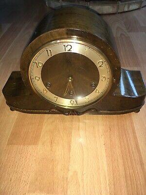 H.A.C. dual chime mantel clock.Westminster/Whittington. German Movement.