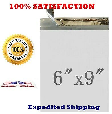 """6x9 Poly Mailers Envelopes Shipping Self Seal Privacy Shield Bags 6/""""x9/"""" PM1"""
