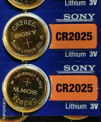 Mercedes Remote & Smart Key Replacement Battery - SONY CR 2025 2 Pack  Exp 2029