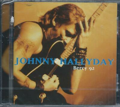 2 CD Johnny Hallyday Bercy 92  Neuf sous cellophane