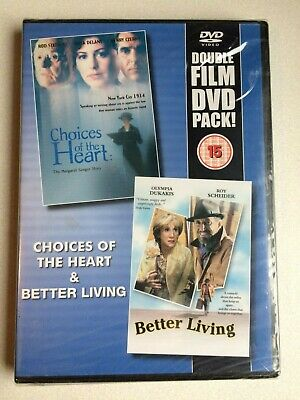 Choices Of The Heart+Better Living, Two Films In One On Dvd, (New+Sealed).