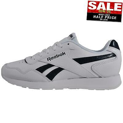 Reebok Royal Glide Mens Classic Leather Casual Fashion Sneakers Trainers White