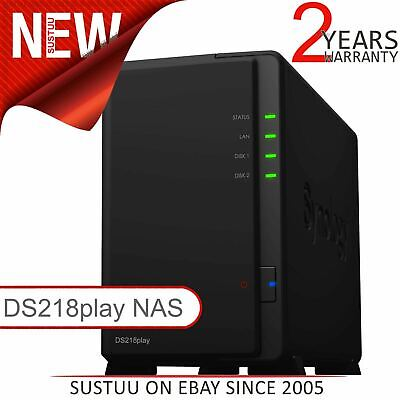 Synology DiskStation 2 Bay Desktop NAS│Storage Unit with 8TB SGT-IW PRO Drives