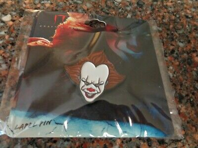 It Chapter Two Pennywise Enamel Pin Clown Official Bioworld New Stephen King