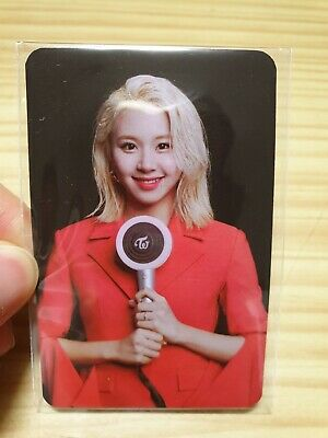 TWICE Official Stick Pen Light CANDY BONG Z Bonus Photo Card Limited CHAEYOUNG