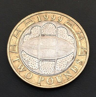 £2 Coin 1999 Rugby World Cup FREEPOST