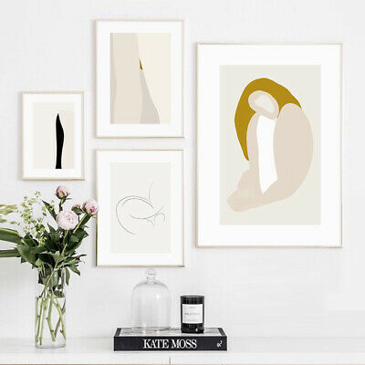 Modern Art Abstract Woman Canvas Poster Sample Wall Decoration Print Picture