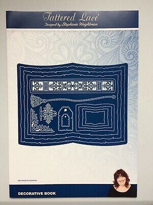 Tattered Lace - Decorative Book Die Set