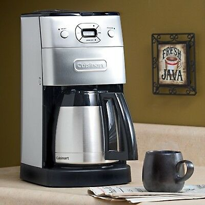 **Lovely** Cuisinart Dgb-650Bc Grind & Brew Thermal 10-Cup Coffee Maker/ Machine