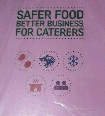 Safer Food Better Business Caterers Pack 2019 +24 Month Diary Full Pack+ 5 Sign