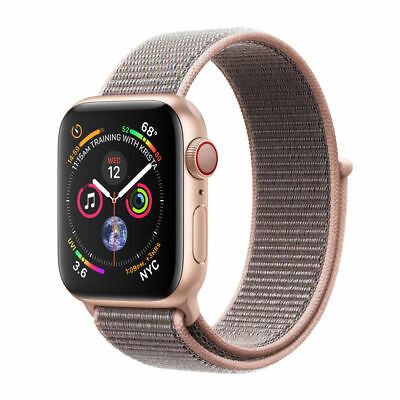Apple Watch Series 4 44 mm Gold Aluminum with Pink Sand Loop (GPS Only)