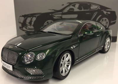 Bentley Continental GT (RHD) from 2016 in Verdant green by PARAGON MODELS 98222R