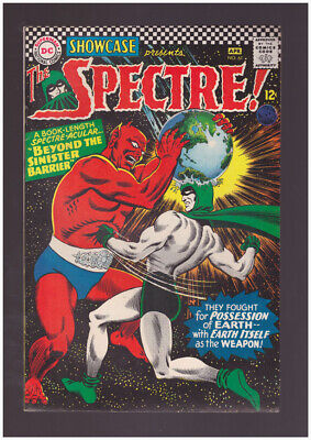 Showcase # 61  The Spectre in The Sinister Barrier !  grade 8.5 scarce book !