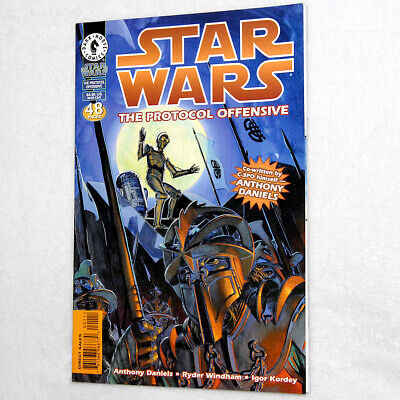 """Dark Horse Comics: """"Star Wars: The Protocol Offensive"""" Co-Writer Anthony Daniels"""