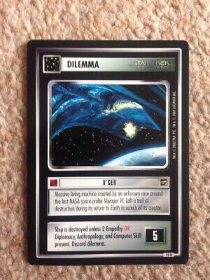 Star Trek The Motion Picture Series Trading Card Dilemma V'ger No Res