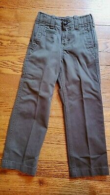 Gapkids Boys Green Straight Fit Slim Pants Size 5 Years