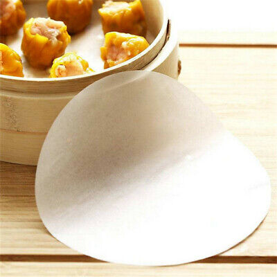 50x Nonstick Round Silicone Pizza Paper Waterproof Cake Biscuit Baking Pan Tools