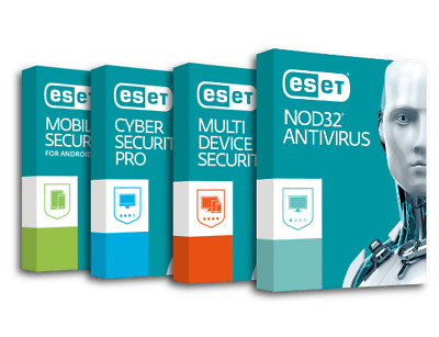 ESET NOD32 Antivirus / Internet Security / Smart Security Premium 2019 2 YEAR!