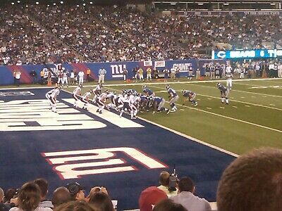 2 New York Giants tickets for 2 Division games , lower-level