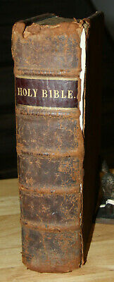 1769 antique Holy Bible  250 YEARS OLD!!