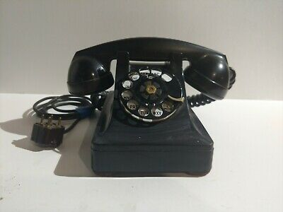 VINTAGE 1930's Bell Systems Western Electric Telephone Rotary Dial