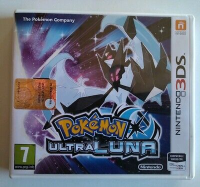 Pokemon Ultraluna Nintendo 3DS Come Nuovo Completo Italiano