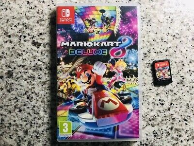 Mario Kart 8 Deluxe Video Game for Nintendo Switch