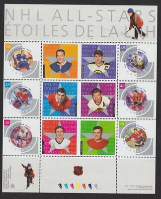 Canada 2003 NHL Hockey souvenir mini sheet #4 2003  Scott #1971 MNH