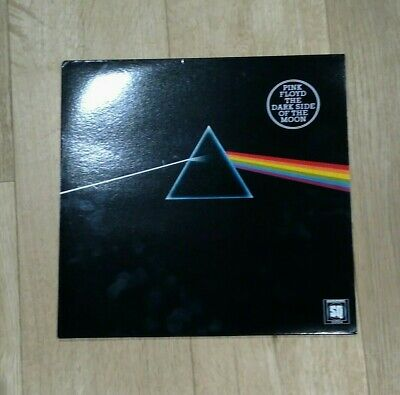 Pink Floyd 'Dark Side of the Moon' Very Rare Pink Marble Vinyl