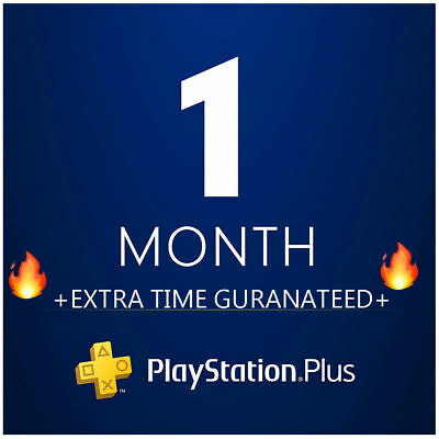 PSN PLUS 1 Month(2x14) DAY TRIAL - PS4-PS3-PS Vita-PLAYSTATION NO.CODE FRANCE