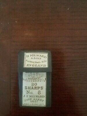 H Milward & Sons needles from England