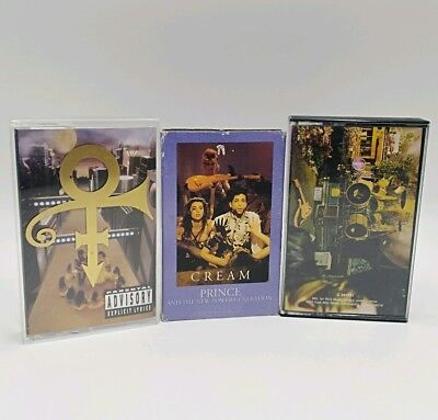 Prince and the NPG Sign O Times Cream Horny Pony New Power Generation Cassettes