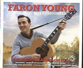 Country Hits & Favourites by Faron Young (CD, Feb-2016, 2 Discs, Not Now Music)