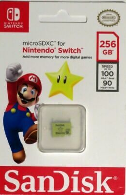 SanDisk 256GB UHS-I microSDXC Memory Card for The Nintendo Switch