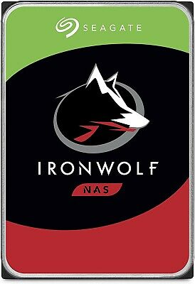 Seagate IronWolf 10 TB Internal 7200 RPM 3.5 Hard Drive -ST10000VN0004
