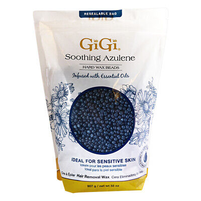 GiGi Soothing Azulene Hard Wax Beads 32oz 907g