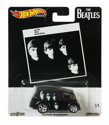 """2019 Hot Wheels Pop Culture """"The Beatles"""" Quick D-Livery, Ships World Wide"""