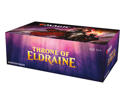 Magic The Gathering Throne Of Eldraine Booster Box 10/4 A
