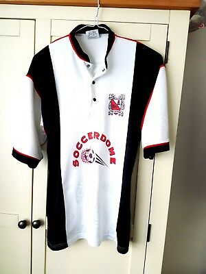 Darlington Home Shirt 1996. Small Adults White Short Sleeves Football Top Only S