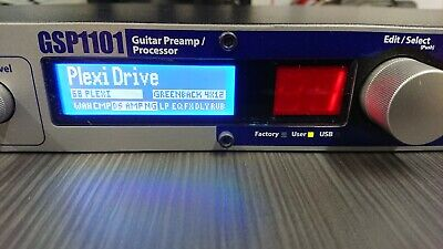 Digitech GSP1101 Guitar Effects Processor And Modelling Preamp - £1