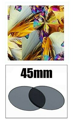 45mm Dia. Multi Layer Linear Polarizing Filters for Microscopes & Optical Device