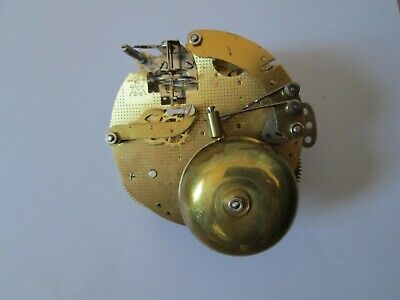 Franz Hermle Floating Balance Ting Tang Twin Bell Clock Movement 130-070