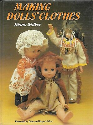 Making dolls clothes vintage HB book 1980 pattern making costumes uniforms etc