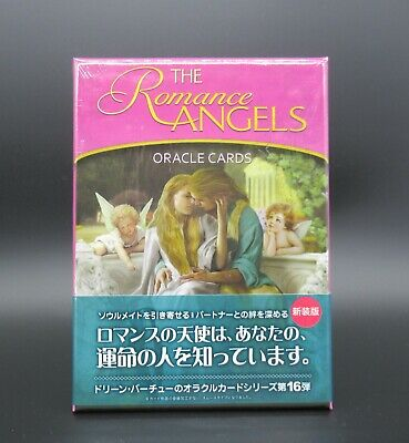 Romance Angel Oracle Card deck New Edition Japanese version manual