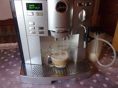 JURA Impressa s95 Platin Chrom Hot Coffee  auto Perfection Garantie.+++++