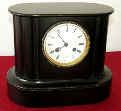 Wood 8 Day French Mantle Clock With Countwheel Escapement By Farret Of Paris